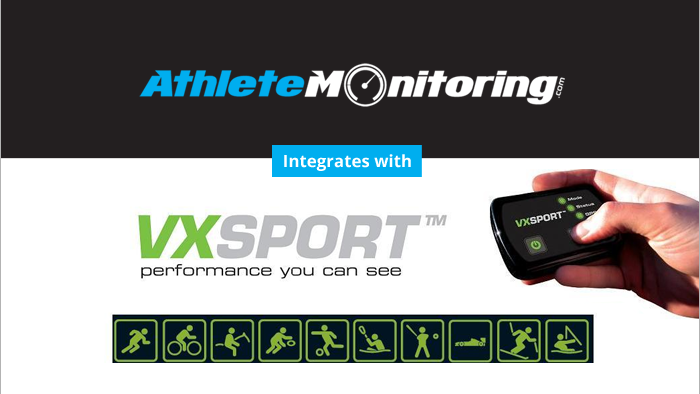 Integration with VX Sport GPS Devices