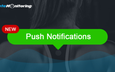 AthleteMonitoring now supports push notifications