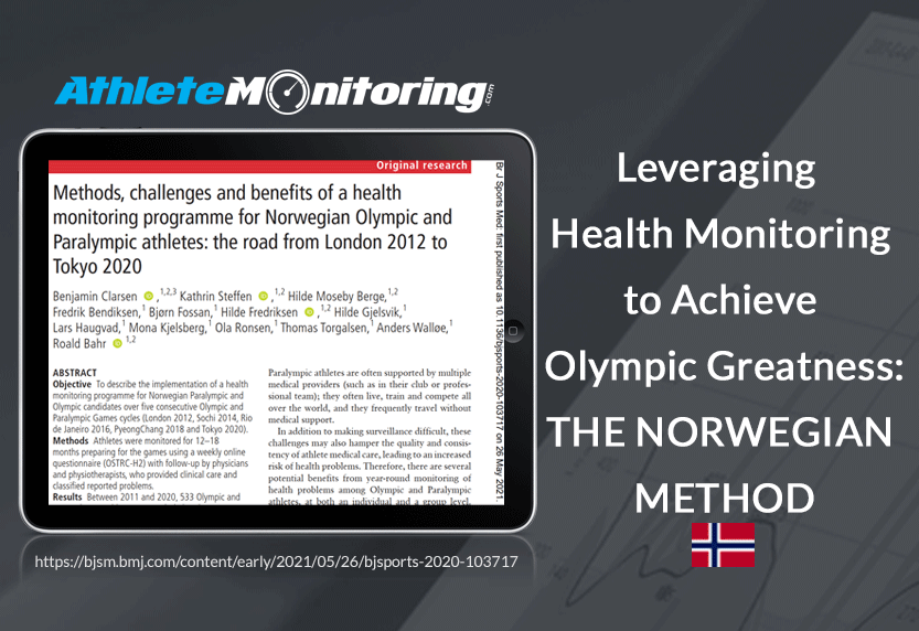 How Norway Leverages Athlete Health Monitoring to Achieve Olympic Greatness